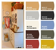 Photo/Kitchen by: The Little Red Shop, Paint color ideas from Chip It! by Sherwin-Williams #chipit