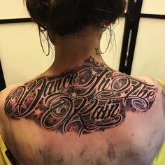 Tattoo made by pepe. Dance in the rain