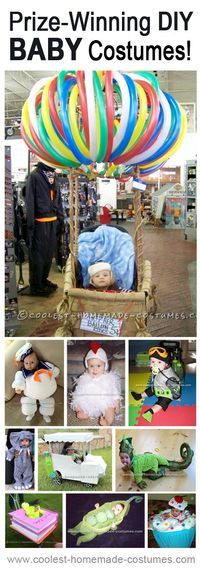 Homemade Costumes that Really Won Prizes in Local DIY Halloween Costume Contests! If you're looking for an Halloween costume idea you should check this out.