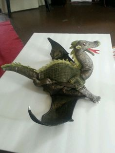 Folkmanis dragon hand puppet
