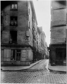 Rue Laplace and Rue Valette, Paris Eugène Atget (French, Libourne 1857–1927 Paris)