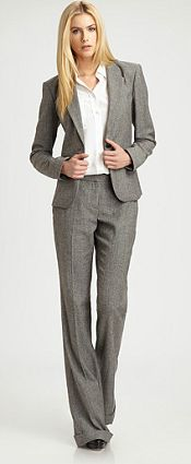 #Theory suit #interviewoutfit #businessformal