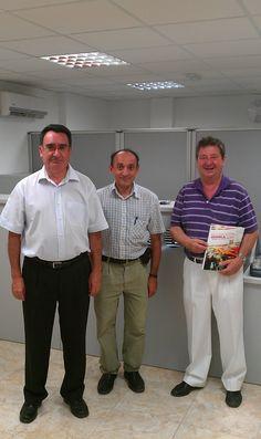 Visitas ilustres a la empresa como la de FACEMAP.