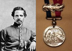 Powhatan Beaty - received medal of honor for service during the civil war