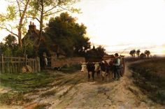 The Road Home by HENRY HILLINGFORD PARKER - Cider House Galleries