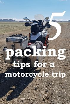 Five packing tips for a 25.000 kilometers motorcycle ride to Mongolia.