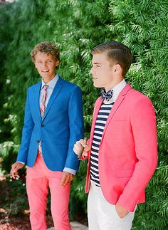 5 Reasons to Dress Men in Brights! | eBay | Image by Jose Villa