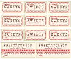 Downloadvalentine sweets wrappers