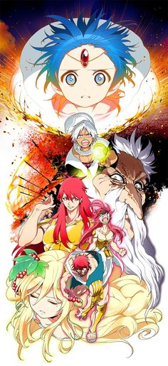 MAGI: The Labyrinth of Magi