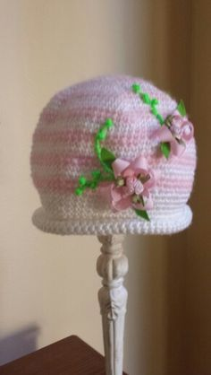 Pink posey Crochet Hats, Beanie, Pink, Fashion, Knitting Hats, Moda, Fashion Styles, Beanies, Pink Hair