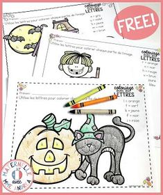 Classroom tips & tricks, resources and teaching ideas for the primary French classroom - immersion or French first-language Halloween Math, Halloween Activities, Language Activities, Literacy Activities, Free Math Games, Fall Preschool, French Immersion, Kindergarten Literacy, French Lessons