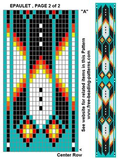 native-american-beadwork-group-turquoise-diamonds-epaulet-2