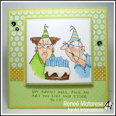 Birthday Couple by Renlymat - Cards and Paper Crafts at Splitcoaststampers