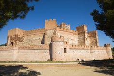 Les plus beaux châteaux de l'Espagne. Château de la Mota a Medina del Campo