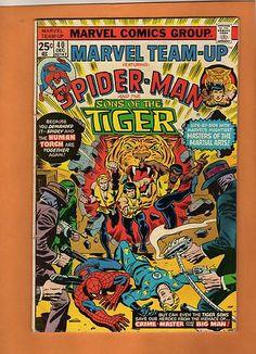 Marvel Team Up s 40 67 81 116 Fearturing Spider Man   eBay