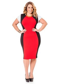 8e008b85366 10 Red And Black Valentine s Day Plus Size Dresses That Will Make Your Man  Weak In The Knees. Big Girl ...