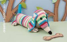 Rico - Crochet Kit - Ted the Dachshund