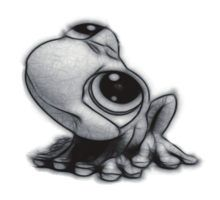 Gallery For gt Frog Pencil Drawings