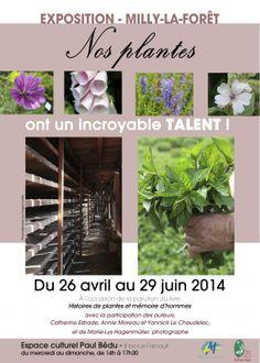 Exposition « Nos plantes ont un incroyable talent ! » à Milly-la-Forêt (91) http://www.pariscotejardin.fr/2014/04/exposition-nos-plantes-ont-un-incroyable-talent-a-milly-la-foret-91/