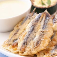 If you are looking to deep fry fish, this recipe uses easy ingredients and is a tasty crunchy snack.