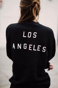 Click To Foresee Your Love Life Of 2017, Brandy ♥ Melville | Erica Los Angeles Sweatshirt - Graphics , #motivationalquotesforsuccess, #inspirationalquotes