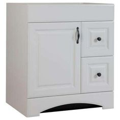 Regency 30 in. Vanity Cabinet Only in White