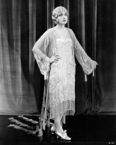 1926 Corinne Griffith in a beautiful fashion shot. From A Certain Cinema.