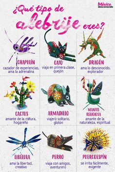 México Desconocido / ¿Qué tipo de alebrije eres?