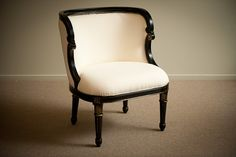 P7 E80-242L Black and Gold Beaumont Tub Chair