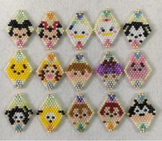 Peyote Stitch Patterns, Hama Beads Patterns, Jewelry Patterns, Beading Patterns, Beaded Animals, Earring Tutorial, Beading Projects, Seed Bead Earrings, Loom Beading