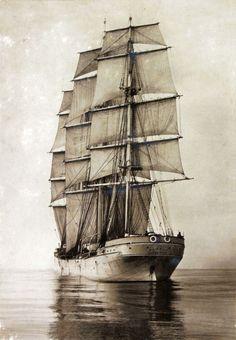 Sailing Ship Mersey 1894