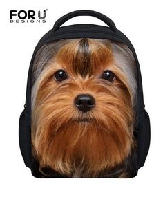 44d454954f2a Yorkie Backpack Bags. Animals For KidsZoo AnimalsSchool Bags For KidsDog  SchoolBaby ...