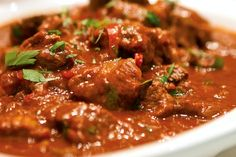 This Venison Goulash recipe from Chives in Halifax is the perfect meal for a cold winter evening.