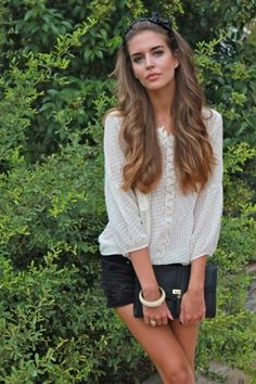 Clara Alonso #fashion #models I really got surprise with this girls beauty, she's is just perfect, just like a barbie...