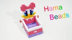 Porta Oggetti Paperina con Hama Beads / Perler Beads box jewelry