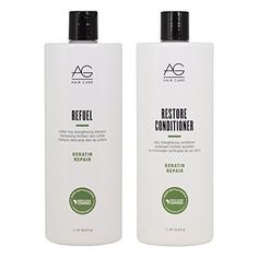 AG Hair Keratin Repair Refuel Shampoo  Restore Conditioner 338oz Duo Set *** Click image for more details.Note:It is affiliate link to Amazon.