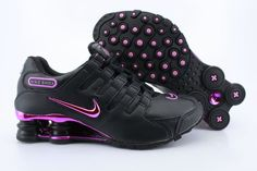 Womens Black and Hot Pink Nike Shox NZ with Pink Plating.size 10 please. Nike Shox Nz, Nike Shox Shoes, Nike Clearance, Clearance Shoes, Nike Shoes For Sale, Nike Free Shoes, Nike Air Max, Sneakers Mode, Sneakers Fashion
