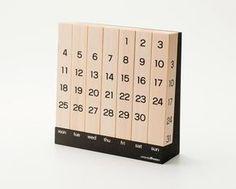 Perpetual Calendar by Keita Shimizu