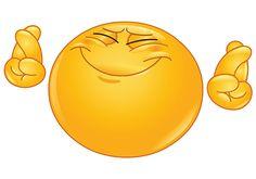Smile Crossed Fingers Emoticons Smiley Bumper Sticker x Smiley Emoji, Funny Emoji Faces, Emoticon Faces, Smiley Faces, Animated Emoticons, Funny Emoticons, Emoji Images, Emoji Pictures, Naughty Emoji