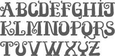 fantini font | MyFonts: Curly typefaces
