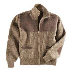 1bbe6caba46 Men s Shetland wool cardigan