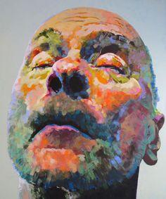 Gehäuse 4, acrylic on canvas, 230 x 190 cm, 2013
