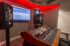 FM Design Private Recording Studio Design Portfolio, Recording studio Design, Acoustic Design, Music Studio Design, Francis Manzella Design