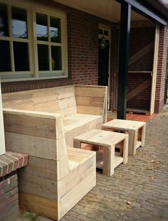 Loungeset en houthok van CustomThijs