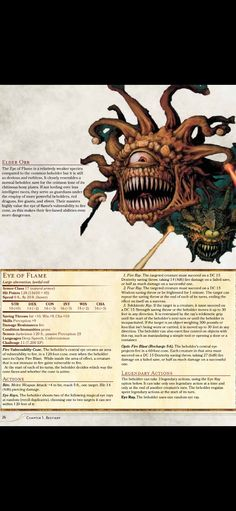 Dungeons And Dragons Classes, Dungeons And Dragons Homebrew, Mythological Creatures, Fantasy Creatures, Doom Demons, D20 Modern, Dnd Stats, Dungeon Master's Guide, Dnd 5e Homebrew