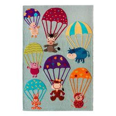 I pinned this Parachutes Rug from the Colorful Kids Rugs event at Joss and Main!
