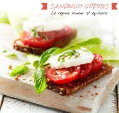 Recette : sandwich crétois #blancheporte