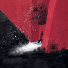 çizgili masallar: Maria Mikhalskaya, The Red House