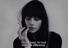 hurt, love, quote, sad, words