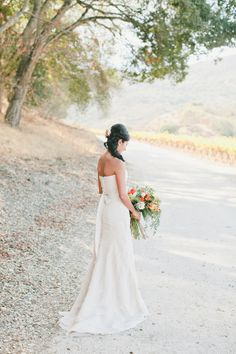 Effortless and elegant: http://www.stylemepretty.com/2015/08/25/our-favorite-brides-who-rocked-vera-wang/